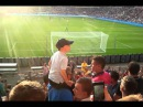 Young guy: C'mon you boys in red! - PSV Eindhoven