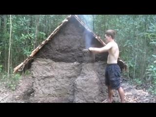 Дом Своими руками из Подручных средств в Лесу