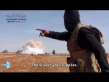 Tantrum #ISIS terrorist after the #RuAF attack #Syria English subtitles