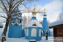 05 января 2015 -  Самарская область: Святой источник чудотворной иконы Божией Матери «Избавительница от бед» в селе Ташла зимой