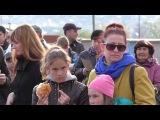 Праздничный концерт у 70-летию Победы и солдатская каша из полевой кухни. Миасс. (видео)