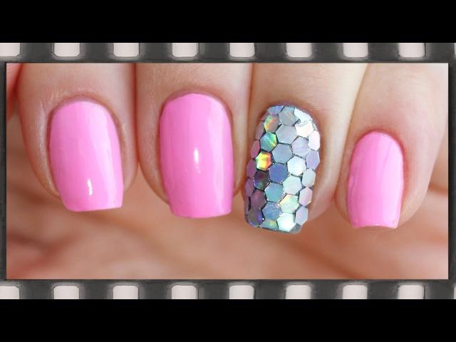Дизайн ногтей шестигранники фото