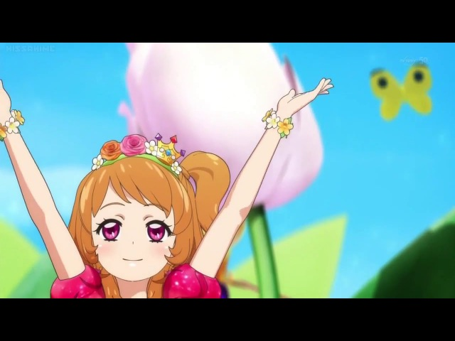 HD - Aikatsu! Season 3 - アイカツ - Blooming♡Blooming w/lyrics [c]Kissanime - Ozora Akari
