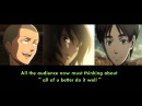 Attack on titan voice actors singing opening(Eren,Mikasa,Connie) Yuki Kaji,Yui Ishikawa,Hiro Shimono