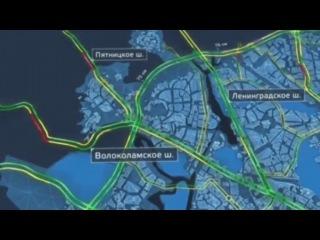 Новости - Заторы на столичных магистралях 3 сентября достигли 1 балла