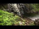 Mystical Falls Napali Coast Kauai HD Nature Video Background w/Nature Sounds 1080p
