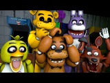 Animatronics Reaction to Five Nights at Freddys 4 Trailer | FNAF SFM