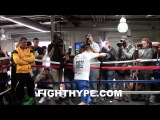 GENNADY GOLOVKIN PUTS IN WORK IN FINAL TRAINING SESSION FOR WILLIE MONROE JR.