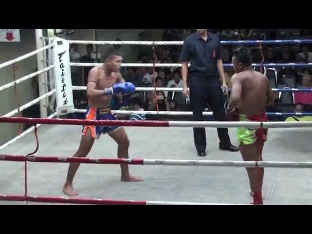 Kunchan vs Seuasamut Sitpanmongkon, Suwit Stadium 15-05-2015