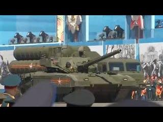 Танк Армата сломался на Красной Площади в Москве возле Мавзолея