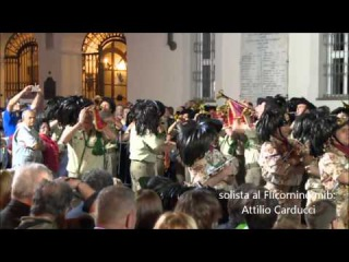 62° Raduno Bersaglieri. Asti 06 giugno 2014 fanfara jesi&ostra. Capofanfara