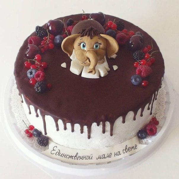 Торт единственной маме на свете пошагово