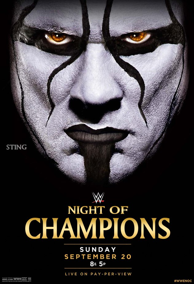 Постер Night of Champions 2015