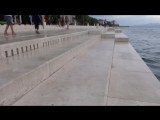 Морской орган в Хорватии. Музыка моря
