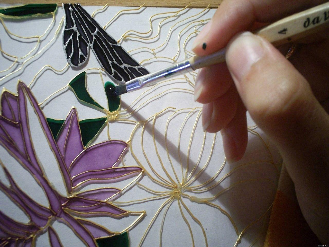 Афиша Хабаровск мастер-класс по росписи на стекле