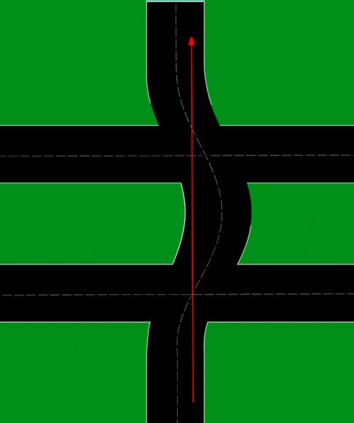 Re: Проезд перекрестков.