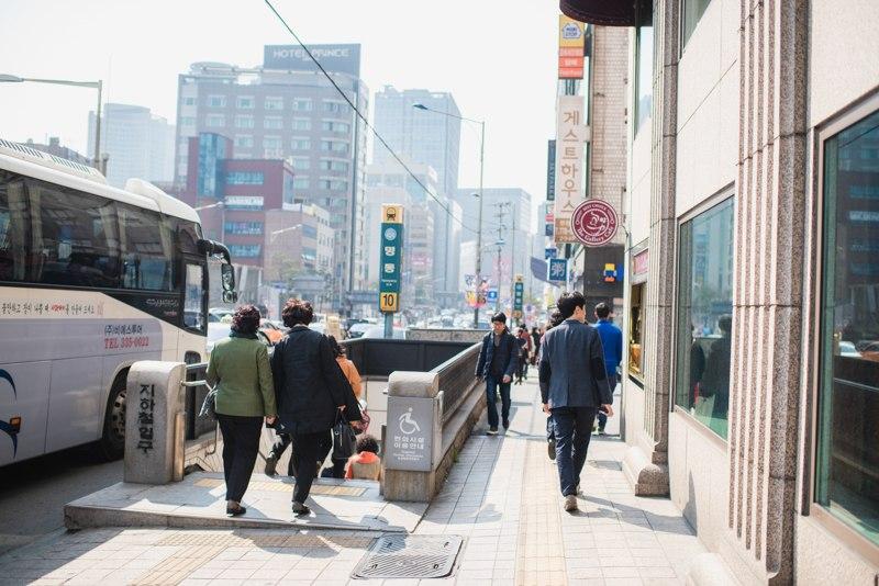 метро сеул