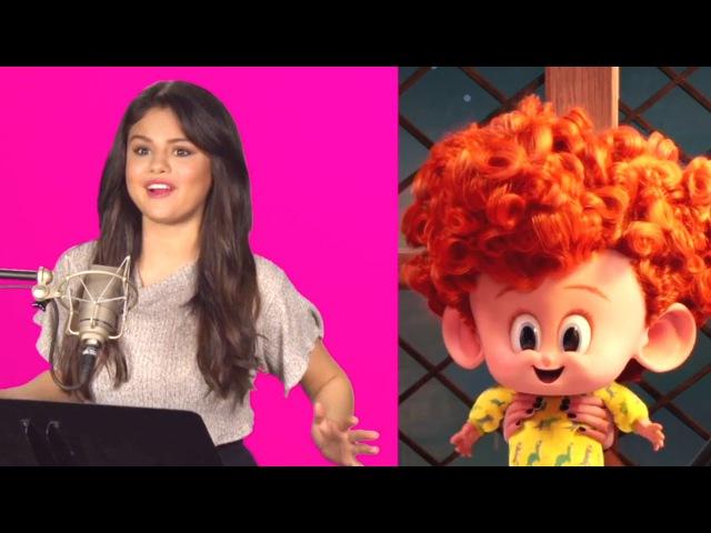 HOTEL TRANSYLVANIA 2 B-roll Footage - Behind The Scenes (2015) Adam Sandler, Selena Gomez Movie HD