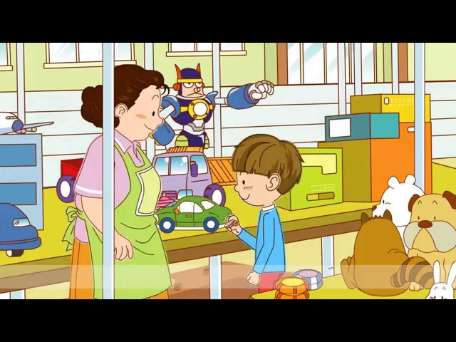 Price How much is it It's five dollars In the store Easy Dialogue English for kids
