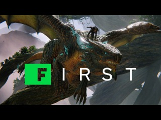 Scalebound: Dragon Armor, Giant Swords, and Flip-Kicking Dragons - IGN First
