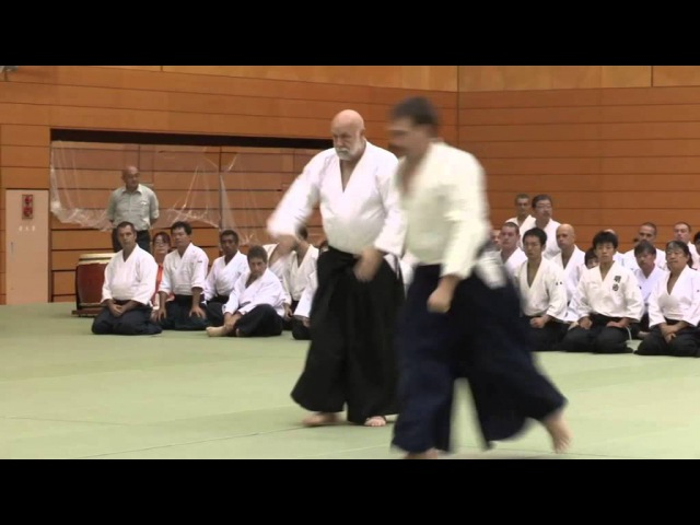 Sweden (Ulf Evenas) - 11th International Aikido Federation Congress in Tokyo - Demonstrations