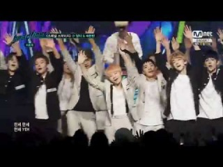 [PERF] [151013] SEVENTEEN (세븐틴) - MANSAE (만세) @ Mnet Headliner
