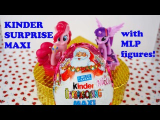 Kinder Surprise Maxi 2015 Christmas Edition with My Little Pony