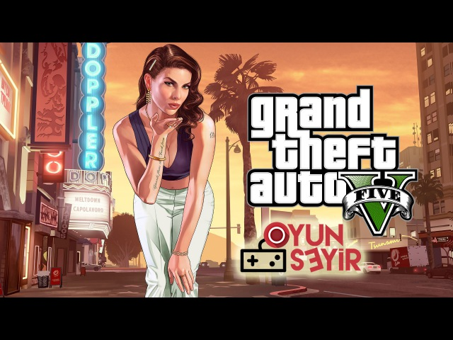 GTA V PC Hikaye Modu 2 Franklin'in Çilesi (Türkçe-Turkish)