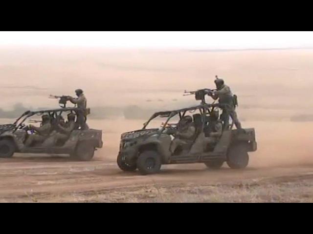 «Центр-2015»: задержание диверсантов и десантирование подразделений ВДВ на полигоне Донгуз