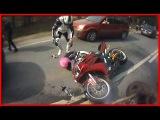 Смерть...очень быстрая смерть Brutal Motorcycle Crash Compilation АвтоСтрасть