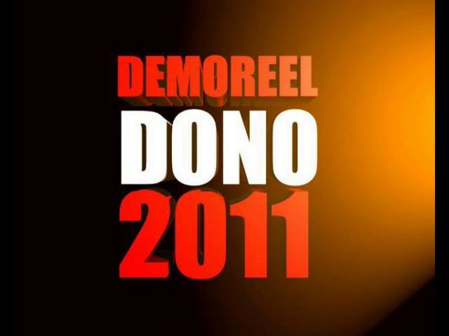 Dono demoreel 2011