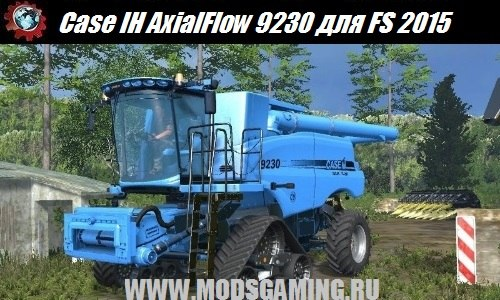 Farming Simulator 2015 download mod harvester Case IH AxialFlow 9230 v2.0