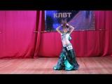 Настя Котельникова - Королева Крыма 2015 - ракс шарки - школа восточного тана