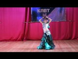 Настя Котельникова - Королева Крыма 2015 - ракс шарки - школа восточного тана Тиара