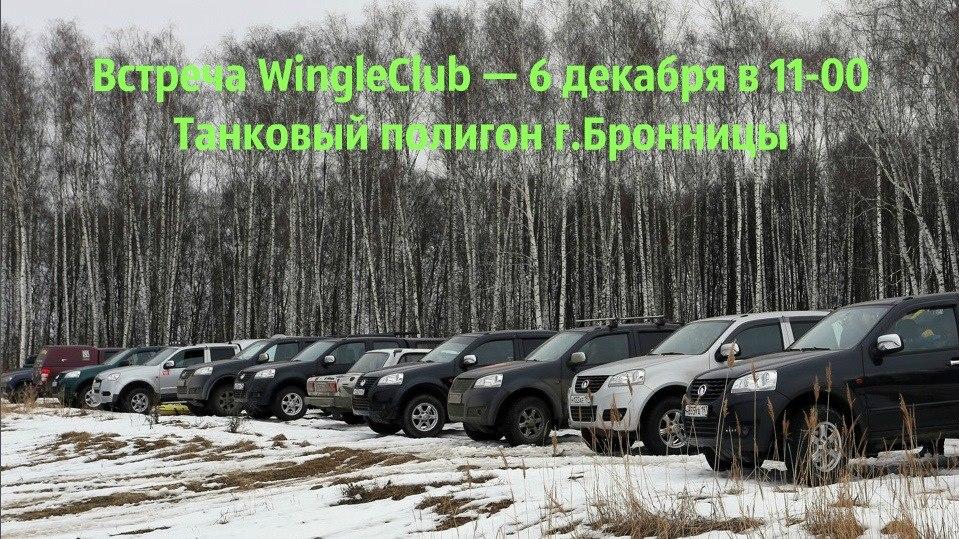 Афиша Воскресенск Встреча WINGLоводов в Бронницах