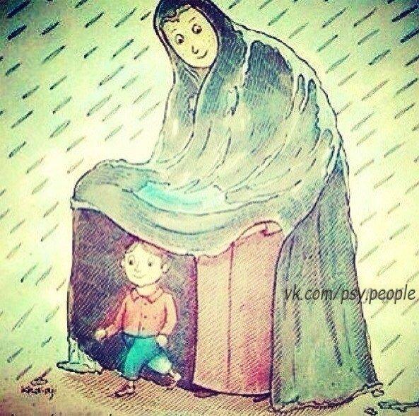Такие мамы 😇