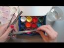 Как подготовить материалы для рисования гуашью Наташа Йорк