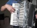 Уроки простой игры на аккордеоне с БГ часть 2