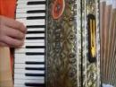 Уроки простой игры на аккордеоне с Ананта Нитаем часть 3