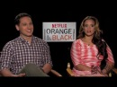 OITNB's Dasha Polanco And Matt McGorry Tell Their Most Emotional Scenes