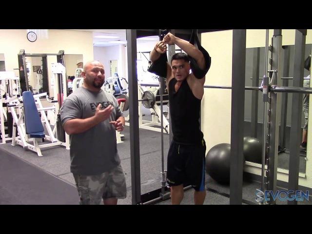 IFBB Pro Jeremy Buendia's last workout before the San Jose Pro