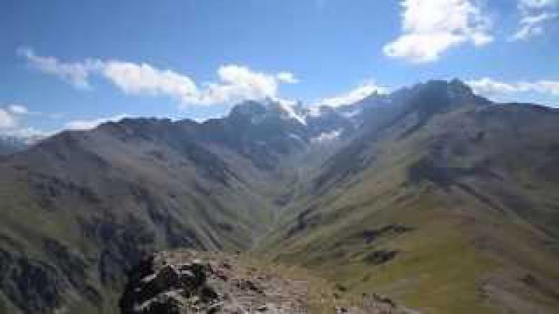Панорама с г. Кай хох. 3068 м.