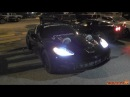2400HP Twin Turbo Corvette at TX2K15 Tearing up the Streets