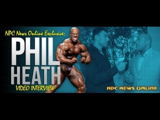 NPC News Online Exclusive: Phil Heath Interview