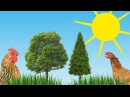 ЖИВОТНЫЕ С ГОЛОСАМИ. КАК ГОВОРЯТ ЖИВОТНЫЕ. Развивающий мультфильм для детей от 1 года. HD .