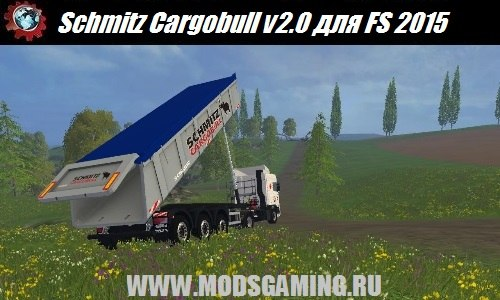 Farming Simulator 2015 download mod trailer Schmitz Cargobull v2.0