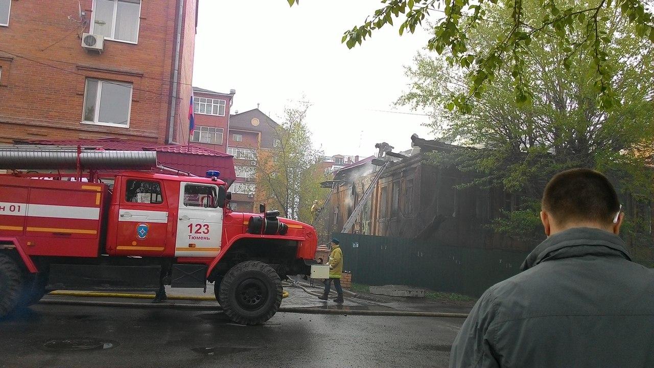 Пожар на Кирова: горел памятник архитектуры 19 века 2