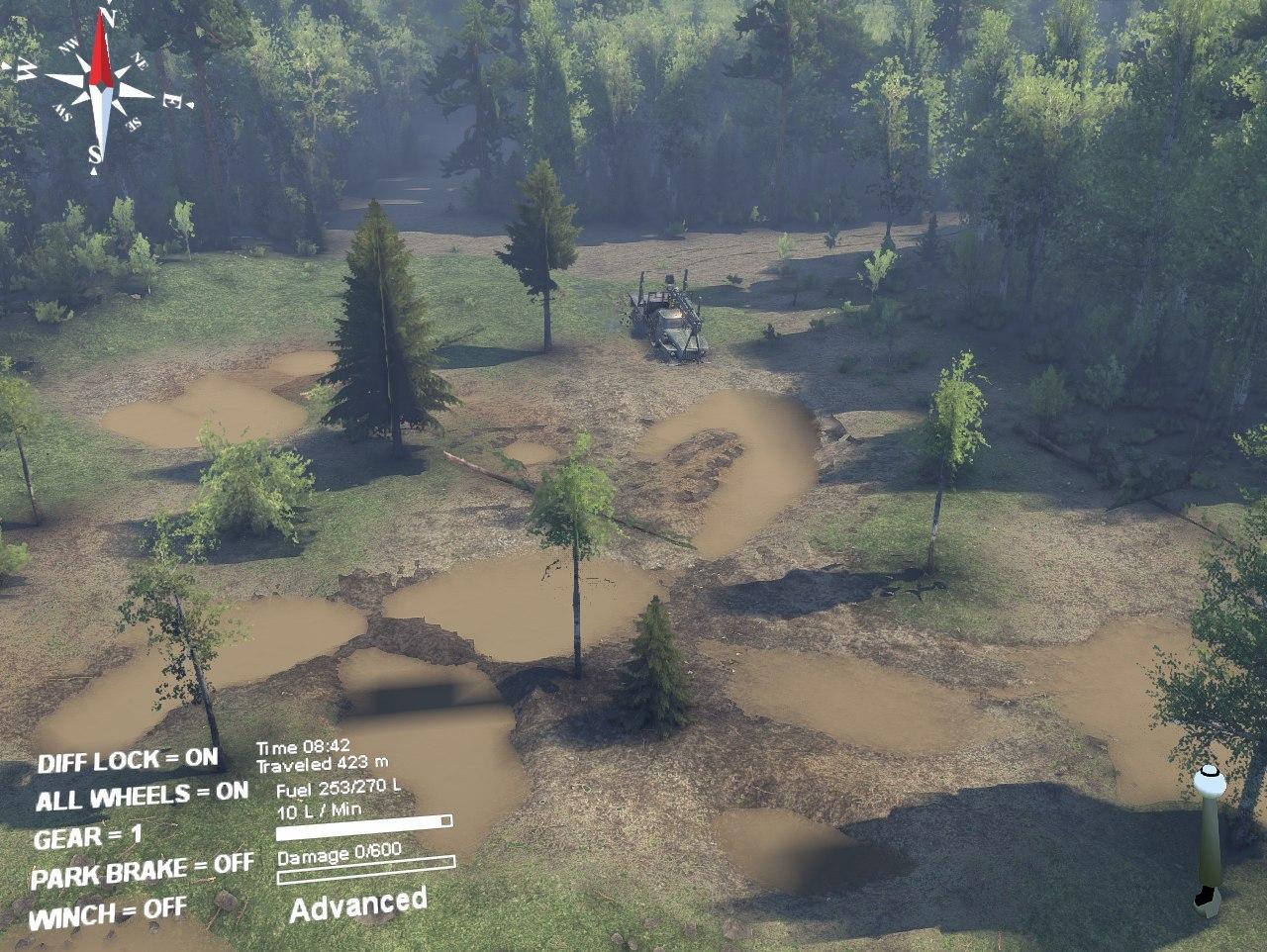 Карта «Сельхоз» для Spintires - Скриншот 1