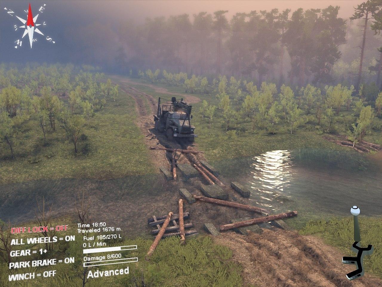Карта «Сельхоз» для Spintires - Скриншот 2