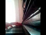 т9 - ода нашей любви (вдох-выдох) отрывок на пианино